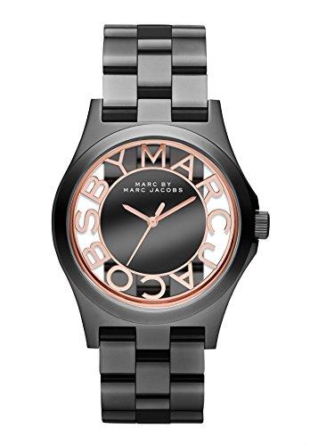 Marc Jacobs Unisex-Reloj analógico de Cuarzo de Acero Inoxidable MBM3254