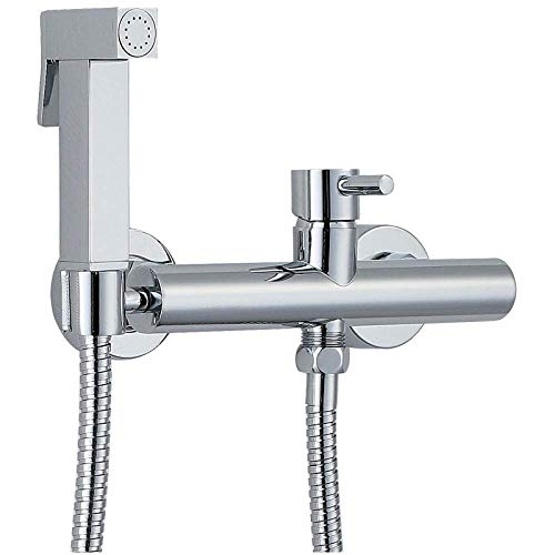 HYY-AA For la higiene personal WC baño de la limpieza del animal doméstico del pañal del paño de la fregona piscina - Pequeño presurizado ducha de agua caliente y fría de cobre fino Bidé Inodoro WC WC
