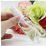 Ruluti Botellas del Aerosol Directo Pulverizador De Plástico del Atomizador Cosmética Botella De Spray Claro Set Empty Bottle (Color Azar)