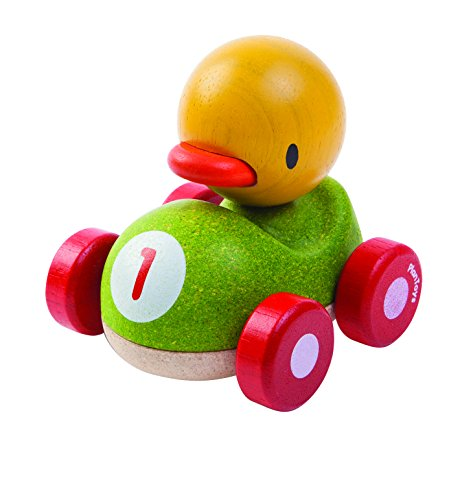 PlanToys- Duck Racer, PT5678, Wood