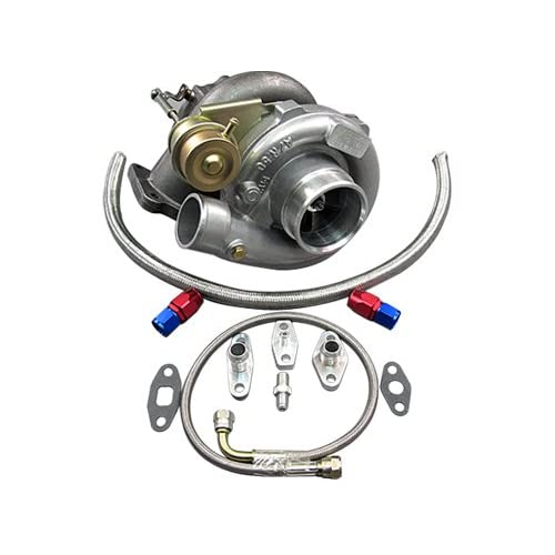 Amazon.com: T61 Turbo Charger + Oil Kit Toyota 86-92 Supra MK3 7MGTE Upgrade CT26: Automotive