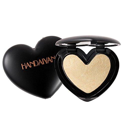YUYOUG Glow Pressed Contour Beauté Maquillage Visage Poudre Shimmer Concealer Glow kit (C)