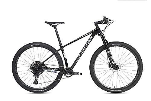 mountain Dirt bike bicicletas de carretera, bicicleta de montaña de carbono Bicicleta de 27,5 \\\\ '/ 29 \\\\' Engranajes de MTB de fibra de carbono ultraligeros Frenos de doble disco Bicicleta de mon