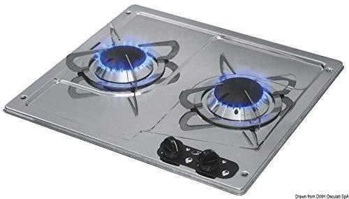 2-pits kookplaat uitsparing m.