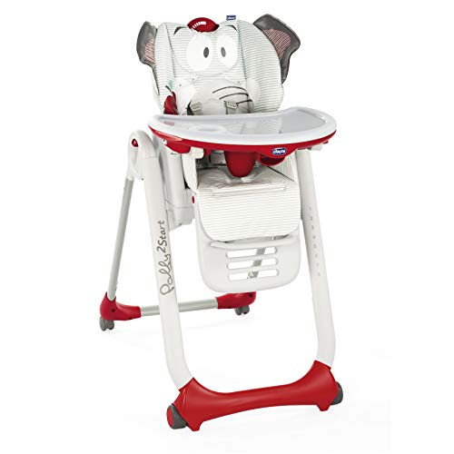 Chicco Polly 2 Start Trona y hamaca transformable y compacta, con 4 ruedas y freno, de 0 a...