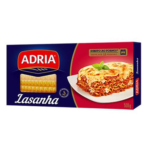 アドリア イタリア風 ラザニア用パスタ 500g Adria Lasanha Italianissimo