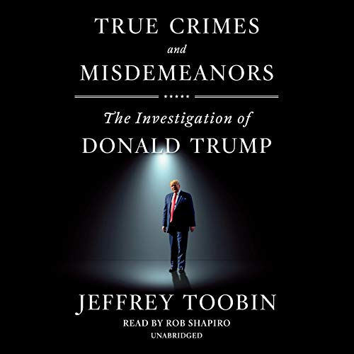 Page de couverture de True Crimes and Misdemeanors
