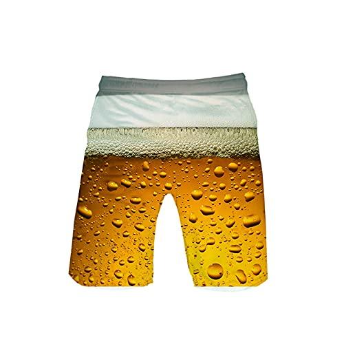 2021 Nuevo Pantalones Corto Hombre verano Oktoberfest Moda Casual Pantalones de playa 3D Impresión Suelto Talla grande Bañador Original Chándal de hombres Jogging Secado rápido Pants trend