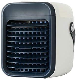 xiaomomo521 Mini Ventilador De Aire Acondicionado, Atomizador, Humidificador De Escritorio, USB 17.3 * 15.1 * 17.3Cm Azul