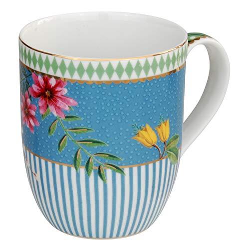 PiP Studio - Tasse, Kaffeetasse - La Majorelle - Porzellan - blau - 145 ml