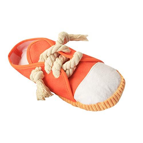 VILLCASE Juguete para Masticar Perros Juguete para Perros Chirriantes Zapatillas de Deporte Mini Zapatos para Cachorros Perros Pequeños Medianos Pájaros Gatos Hurones Conejos Conejillos de