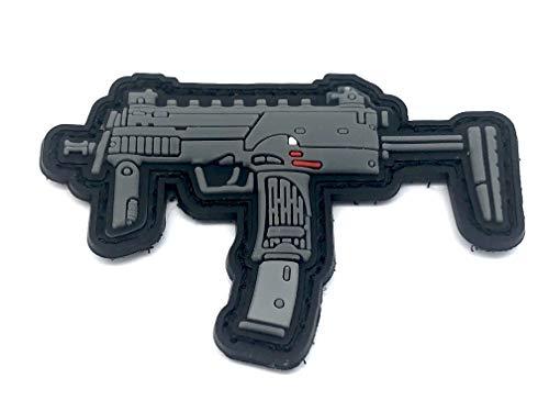 Patch Nation Verschiedene Maschinengewehrangriff-Airsoft-Gewehr Moral PVC-Fan-Klettverschluss (MP7)
