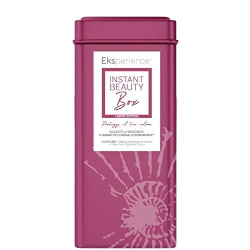 EKSPERIENCE Instant Beauty Box aluminio Limited Edition Color Protection Champú + Máscara