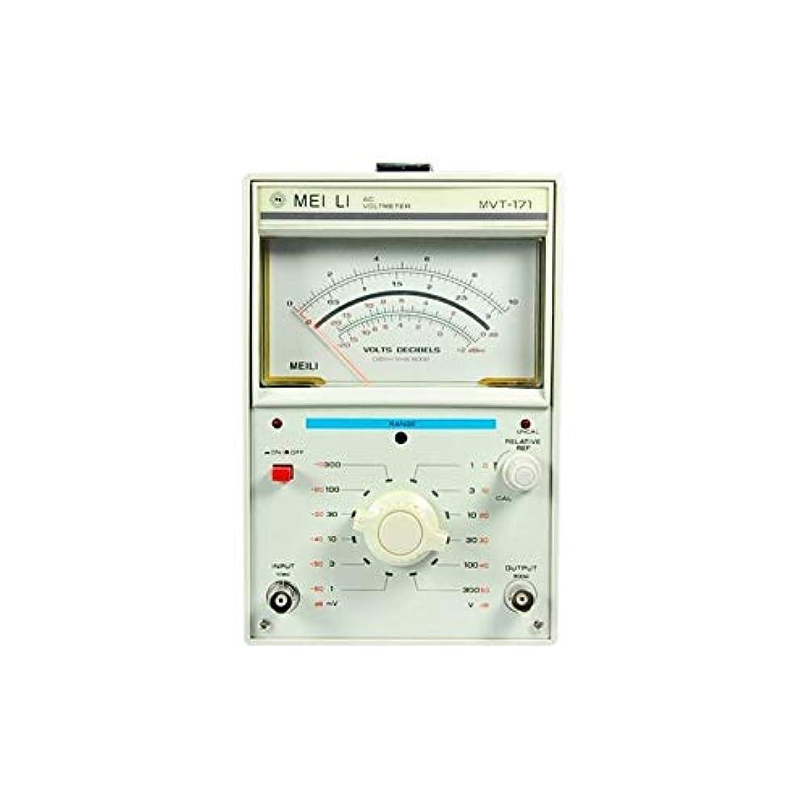 不信ブロックきらきら電子計測機器 MVT-171シングルニードル1チャンネルミリボルトメーター1mV-300V 高精度 (Size : 220V)