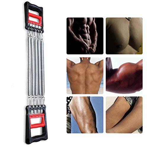 Borstu Chest Expander Multifunctionele borst Expander 5-voudig verstelbare weerstandsbanden hand spieren trainingsapparaat voor armen, benen, schouders, biceps