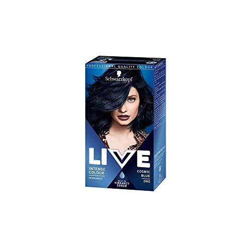 Schwarzkopf LIVE 90 Cosmic Blue, 100 ml