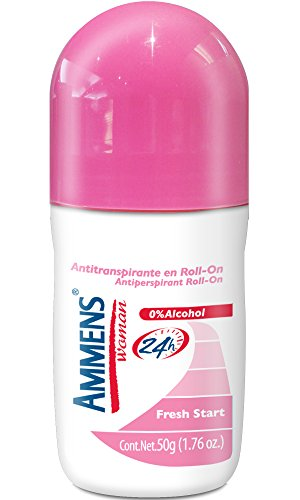 Ammens Roll On Antitranspirante Fresh Start, 50 gr