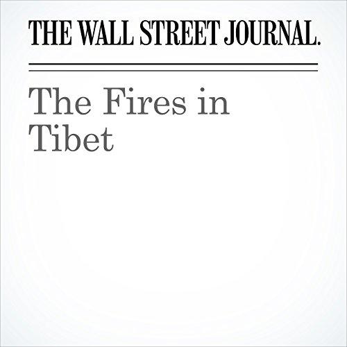 The Fires in Tibet copertina