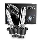 DZG D2s HID Light Bulbs 6000K D2s Xenon Light 35W 12V Car Headlights