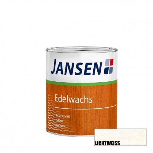 Jansen Edelwachs lichtweiss 0,75l   Holzwachs