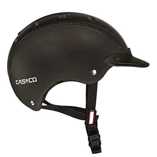 Casco Choice Turnier Reithelm - Black, Kopfumfang:52-56 cm