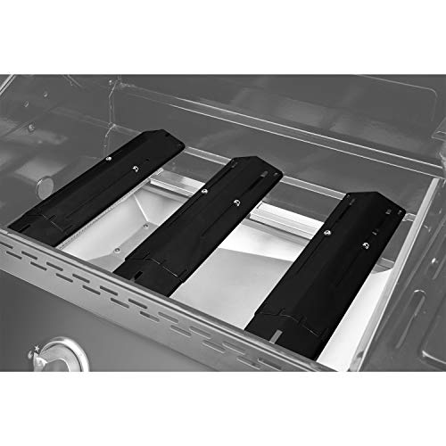 Unicook Adjustable Porcelain Steel Heat Plate Replacement for Select Gas Grill Models