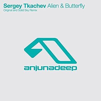 Alien & Butterfly