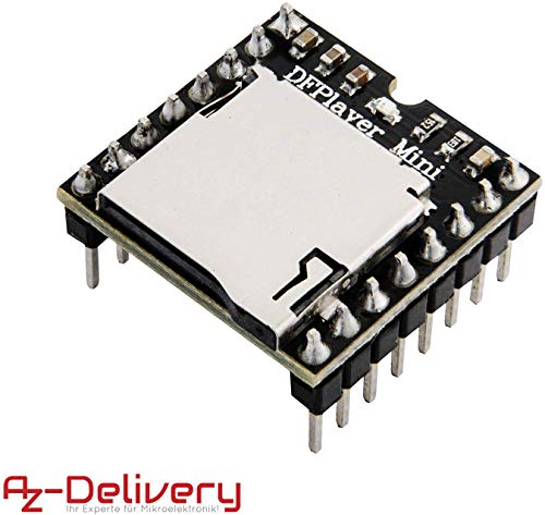 AZDelivery Mini MP3 Player DFPlayer Master Module inklusive E-Book!