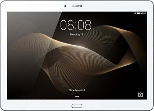 Huawei MediaPad M2 Standard 25,4 cm (10 Zoll) WiFi Tablet-PC (ARM Hisilicon Kirin 930, 2GB RAM, 16GB eMMc , Android Touchscreen) weiß/silber
