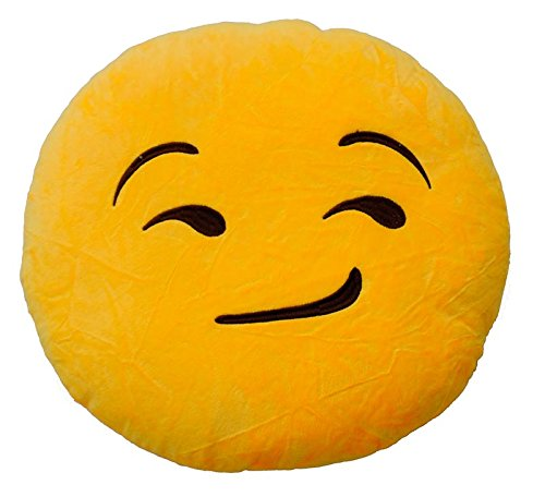 Emoticonworld Cojín Emoticono