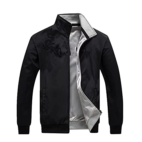 N\P Chaqueta deportiva de otoño para hombre, chaqueta voladora, sección delgada, béisbol a prueba de viento y transpirable.