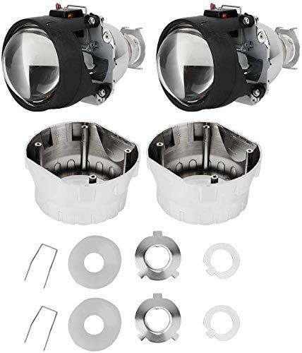 wansosuper Geeignet für 2,5-Zoll-Auto-Projektor-Objektiv, 12V-Auto-Scheinwerfer-Montage-Kit Universal-