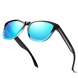 ELITERA Polarized Sunglasses For Women Men Gradient Colors Designer...