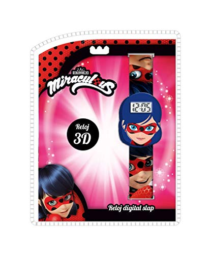 LADY BUG Reloj de Pulsera Digital Slap 3D de Ladybug (LB17121) 1