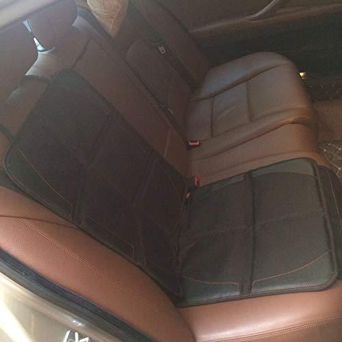 Sunjiaxingzd Funda para asiento de coche, para bebé, universal, de algodón Oxford, impermeable, con bolsillo, accesorio de coche, universal, protector de asiento de coche