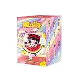 Huolirong Artículo Misterioso,Caja Ciega Electrónica Caja de Misterio Molly My Childhood Series Cute Kawaii Cabally Box Doll Figura de acción binaria Cumpleaños Juguete for niños