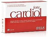 CARDIOL® forte - Integratore per il Colesterolo con Omega-3 EPA/DHA, 10 mg Monacolina K da riso rosso, 100mg CoQ10 ed estratto di olivo - 30 cps