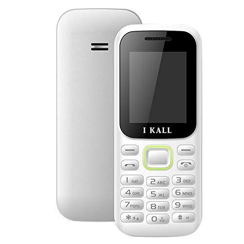 I KALL K31 Keypad Mobile (White, 1.8 Inch, Dual Sim)