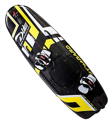 Superficie del Agua eléctrica Tabla de Surf, Natación eléctrica kickboard, Inteligente somatosensoriales Surf Junta ayudas a la natación.(Cinco Estilos) WTZ012 (Color : Yellow)