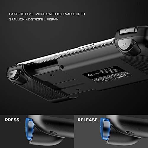 『Android ワイヤレス ゲームパッド GameSir G6 片手コントローラー COD/PUBG/ラフォートナイト/機動都市X/崩壊3対応』の2枚目の画像
