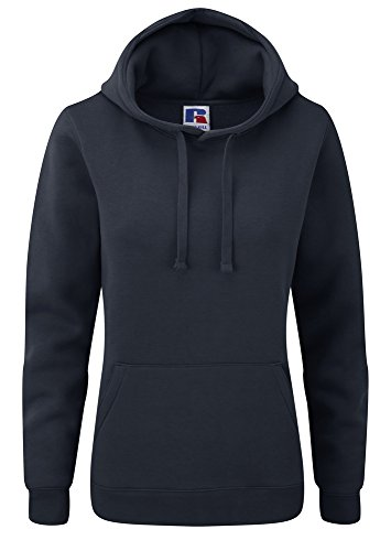 Russell Womens authentic hooded sweatshirt French Navy M