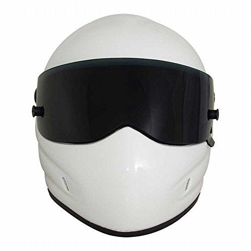CJJ Motorrad Helm Star Wars Helm Frp Full Helm Persönlichkeit Helm,Weiß,XXL