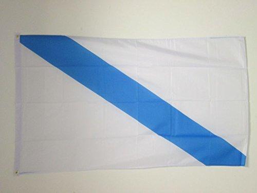 AZ FLAG Bandera de Galicia SIN Armas 150x90cm - Bandera