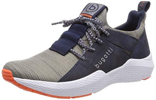 bugatti Herren 341730616900 Slip On Sneaker, Blau, 42 EU