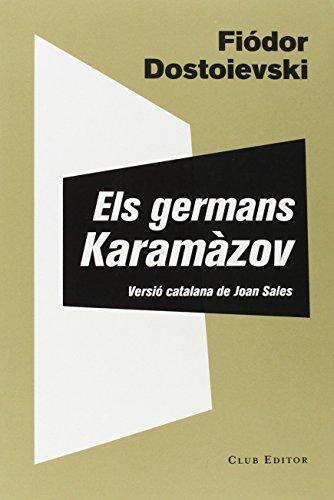 Els germans Karamàzov (El Club dels Novel·listes, Band 52)