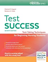 Test Success: Test-Taking Techniques for Beginning Nursing Students (Davis's Q&A Success Series)