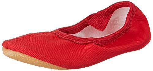 Beck Unisex-Kinder Basic Gymnastikschuhe, Rot (Rot 07), 30 EU