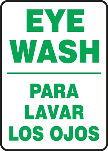 Indefinitely Jendco - Bilingual Safety Sign: Don't miss the campaign Eye 20