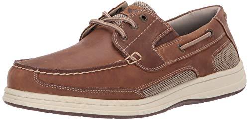 Dockers Men's Beacon Boat Shoe, Dark Tan, 11 Wide