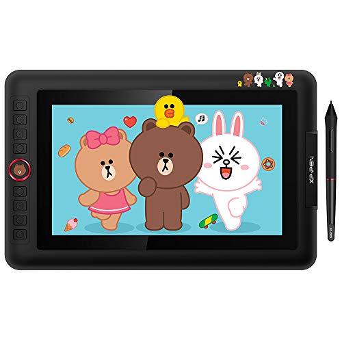 XP-PEN Artist 12 Pro Tablette Graphique à Ecran (LineFreinds Edition) Artist 12 Pro Tablette à Stylet Mignonne pour Dessin Numérique Art Digital - Idéal Cadeau pour Les Jeunes et Les Enfants